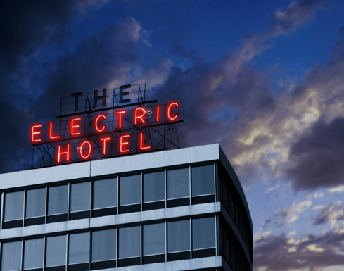 Electric Hotel by Requardt