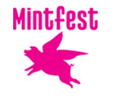 mintfest logo pink square