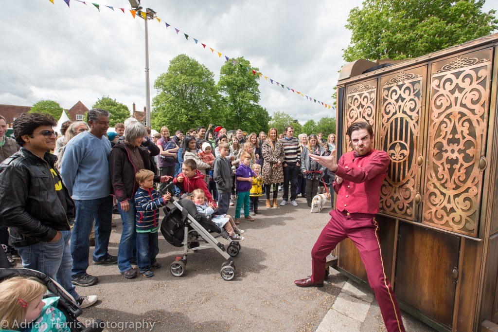 2014 Without Walls commission Wet Picnic at GDIF 2014 taken by Adrian Harris